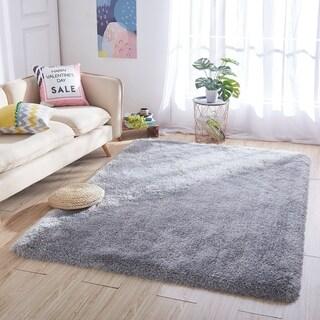 Non-Skid Shaggy Shag Pile Soft Fluffy Thick Area Rug Carpet