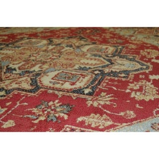 Heriz Multi Traditional Oriental Area Rug
