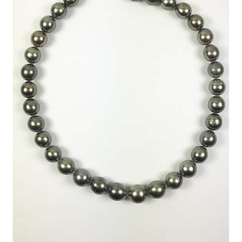 Tahitian 12-14mm Pearl Yellow Gold Strand by Pearl Lustre