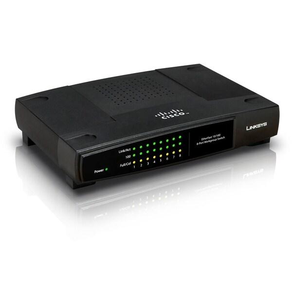 Linksys EtherFast EZXS88W Ethernet Switch
