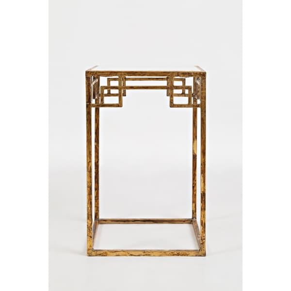 Marble Ayva Nesting Coffee Tables Set Of 2: Shop Marble And Matte Gold Nesting Tables (Set Of 2)