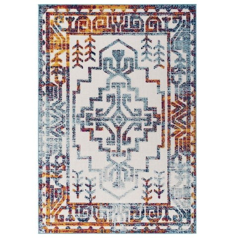 Reflect Nyssa Geometric Southwestern Indoor and Outdoor Area Rug