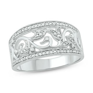 1/10 Cttw Fashion Ring Sterling Silver