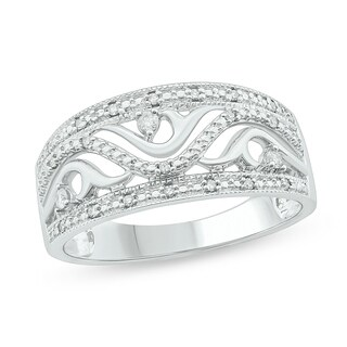 1/8 Cttw Fashion Ring Sterling Silver