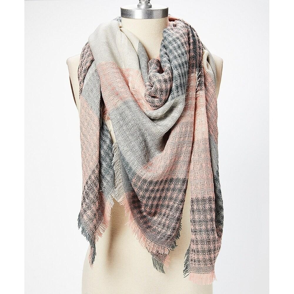 Womens Scarf Warm Shawl Warm Tassels Wrap Wool Long Soft Neck Free Shipping