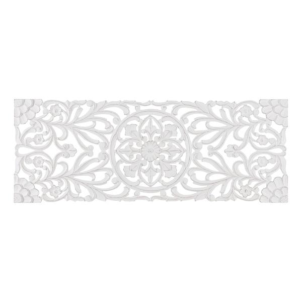 Madeleine Home - All Season Wall Decor Medallion Malito - White. Opens flyout.