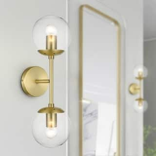 Light Society Zeno Globe 2-Light Wall Sconce