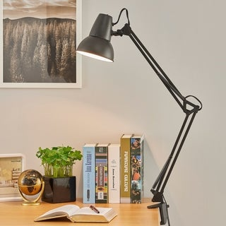 Newhouse The Wright 24 In Black Desk Lamp Free