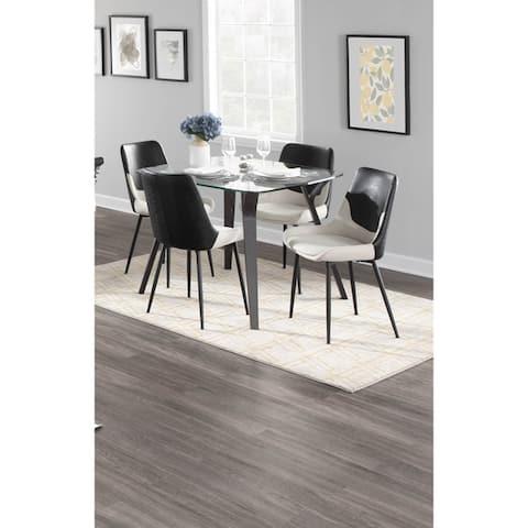 Carson Carrington Sala Mid-century Modern Dining Table - N/A