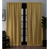 ATI Home Lancaster Woven Blackout Curtain Panel Pair