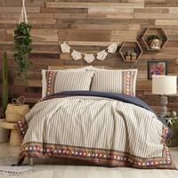 Justina Blakeney Hadarah Duvet Set By Makers Collective Queen Size (As Is Item)