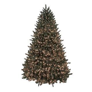 7.5' Pre-Lit Grande Spruce Artificial Christmas Tree - Dual Color LED Lights -