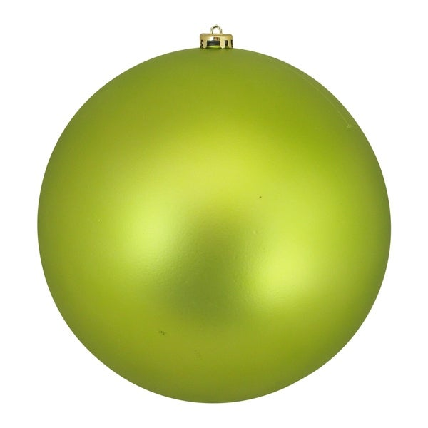 Shop Lime Green Commercial Shatterproof Matte Christmas ...