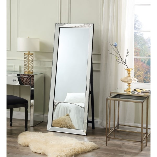 Shop Vanida Full Length Floor Standing Mirror Foldable