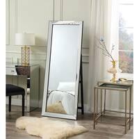 Vanida Full Length Floor Standing Mirror- Foldable / Mirrored Frame