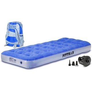 Link to Pittman Kid's Air Mattress w/Backpack & Battery Pump Similar Items in Bedroom Furniture