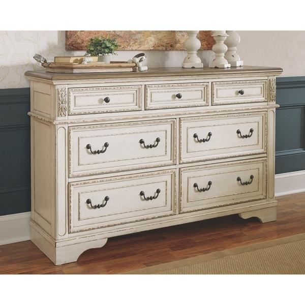 Shop The Gray Barn Nettle Bank Off-white Wood Dresser