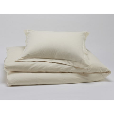 Christopher Knight 400 ct Cotton Duvet Cover Set-Cal King-Natural