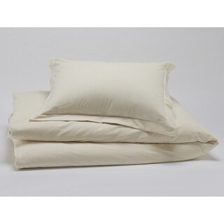Organics by Christopher Knight 400 ct Cotton Duvet Cover Set Cal-King