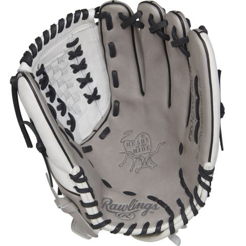 Rawlings Heart of the Hide 12.5in Softball Glove Gray