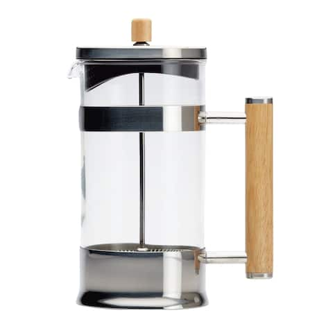Ayesha Collection Coffee & Tea Glass 8-Cup French Press
