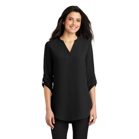 Port AuthorityWomen's 3/4 Sleeve Tunic Blouse