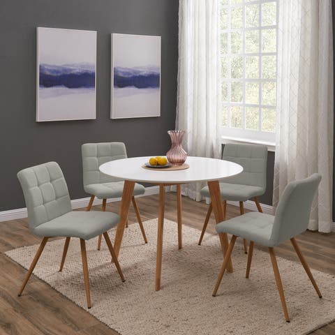 Carson Carrington Telemark 5-piece Round Table