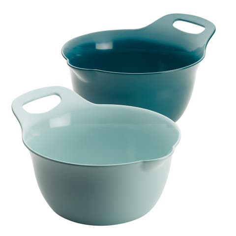 Rachael Ray Tools and Gadgets Nesting 2-Piece Mixing Bowl Set