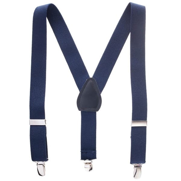 9e3b7158dd907 Hold Em kids Suspenders - Boy s Toddler Baby Polished Clip Genuine Leather  Crosspatch Perfect for Tuxedo