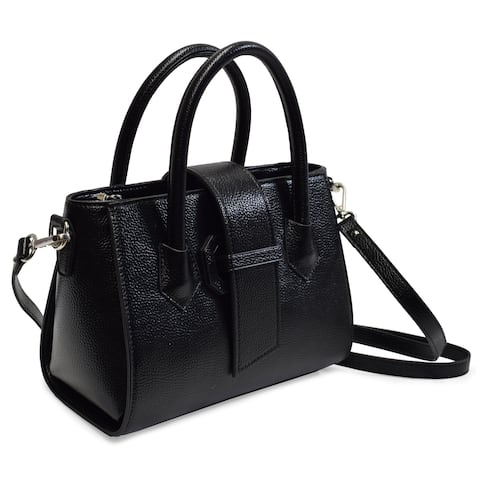 The Alyza Collection Satchels Medium Satchel with Shoulder Strap