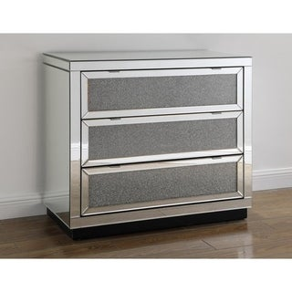 Best Master Furniture 3-drawer Crystal Hall Chest