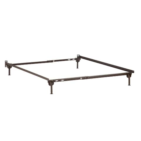 Atlantic Furniture Twin/Twin XL/Full Bed Frame with Glides
