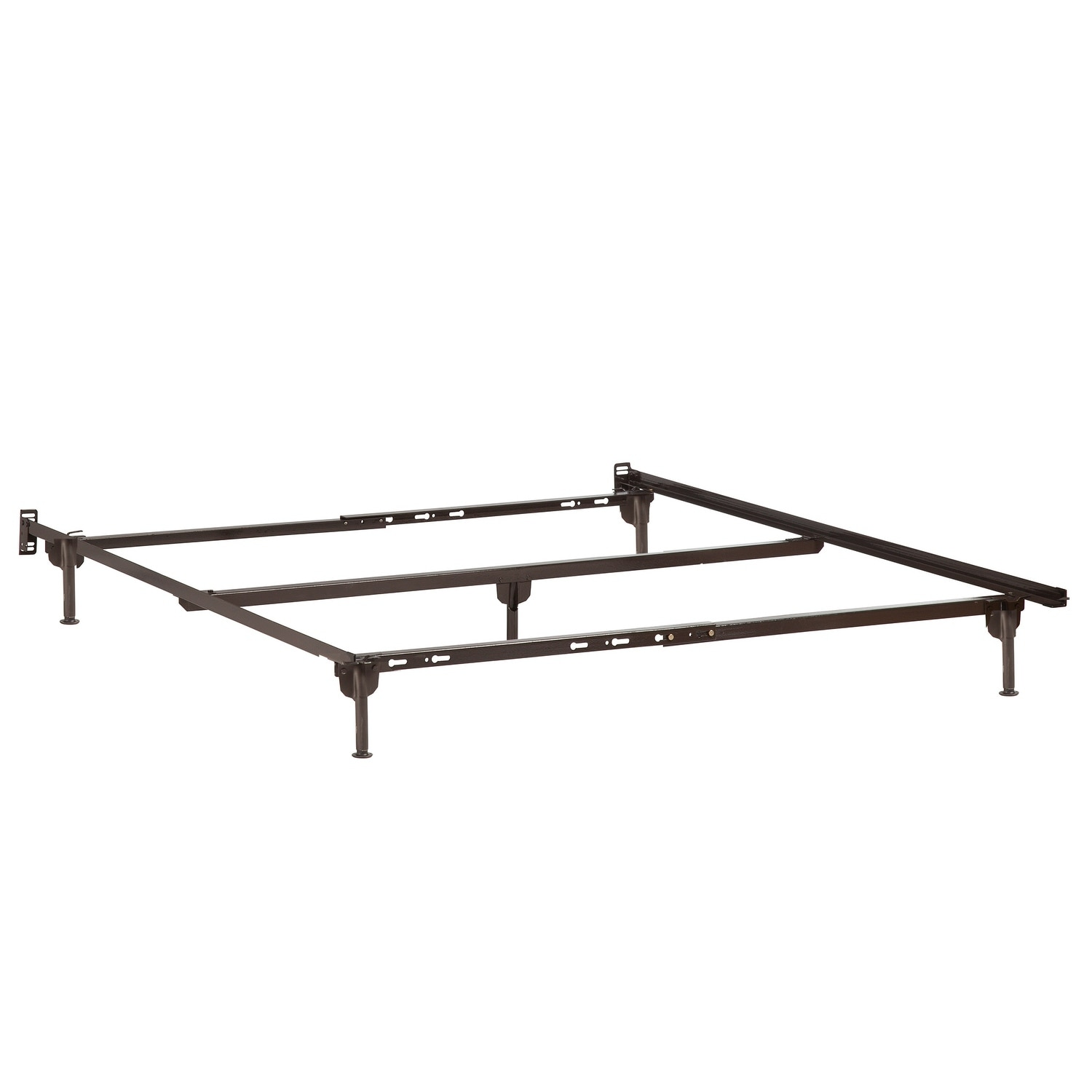 Atlantic Furniture Metal Twin Xl Full Queen Bed Frame With Glides Free Shipping Today 26452000
