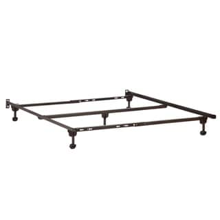 Metal Bed Frame Twin-Twin XL-Full-Queen Rollers