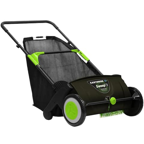 "Earthwise 21"" Lawn Sweeper"