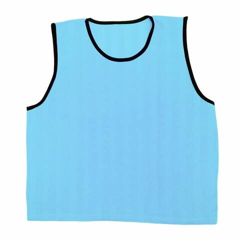GoTEAM Pro Striped Mesh Sport Training Pinnies- Adult