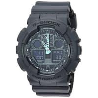 Casio G-Shock GA-100C-8A Analog-Digital Watch Black/Grey - N/A