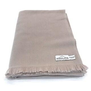 Himalaya Trading Company Cashmere Classic Throw