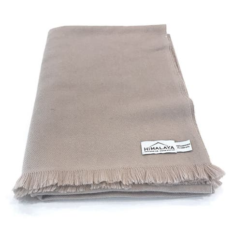 Himalaya Trading Company Cashmere Classic Throw