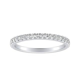 Auriya Classic 1 3ctw Diamond Anniversary Wedding Band 14k Gold