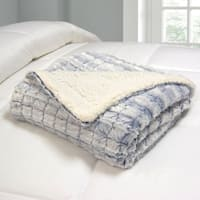 Micromink Reversible To Sherpa Throw