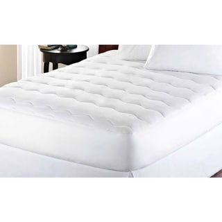 kathy ireland Microfiber Water Proof Mattress Pad - White