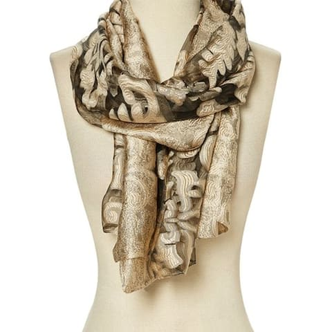 Winter Women Scarf Wrap Shawl Floral Neck Lightweight Scarve Gift Lady - 29'' x 78'' - 29'' x 78''