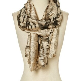 Winter Women Scarf Wrap Shawl Floral Neck Lightweight Scarve Gift Lady - 29'' x 78''