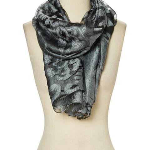 Winter Women Scarf Wrap Shawl Floral Neck Lightweight Scarve Gift Lady - 29'' x 78'' - 29'' x 78''