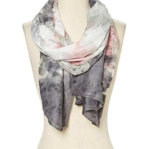 Women Fashion Viscose Lightweight Soft Abstract Winter Wrap Long Scarf - 29'' x 78'' - 29'' x 78''