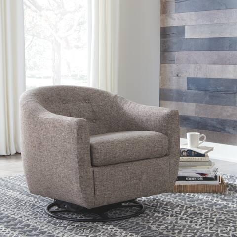 Upshur Swivel Glider Accent Chair