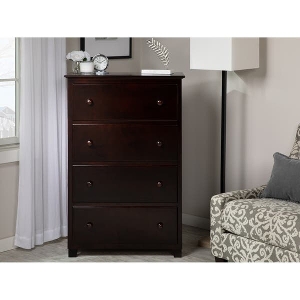 Atlantic 4 Drawer 48 Inch Chest