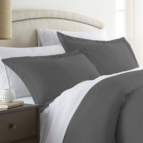 Merit Linens Premium Ultra Soft 2 Piece Pillow Sham Set