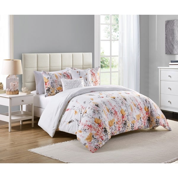 Copper Grove Postavy Floral Duvet Cover Set